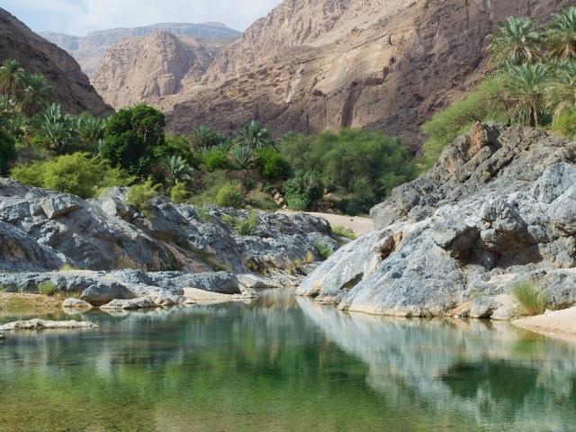 Oman Wadi al-Hail