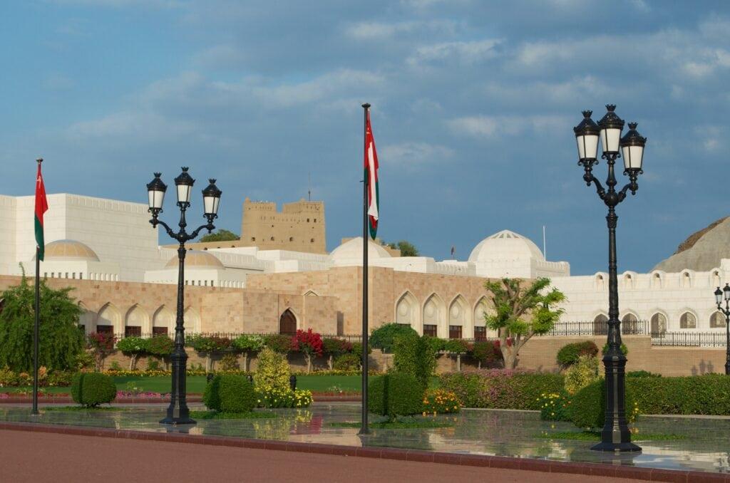 Regierungsviertel Muscat