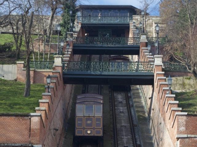 Standseilbahn Budavári Sikló Budapest