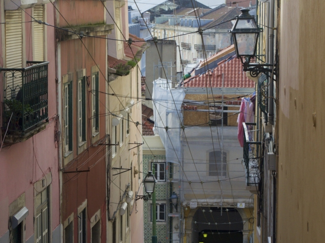 Ascensor da Bica Lissabon