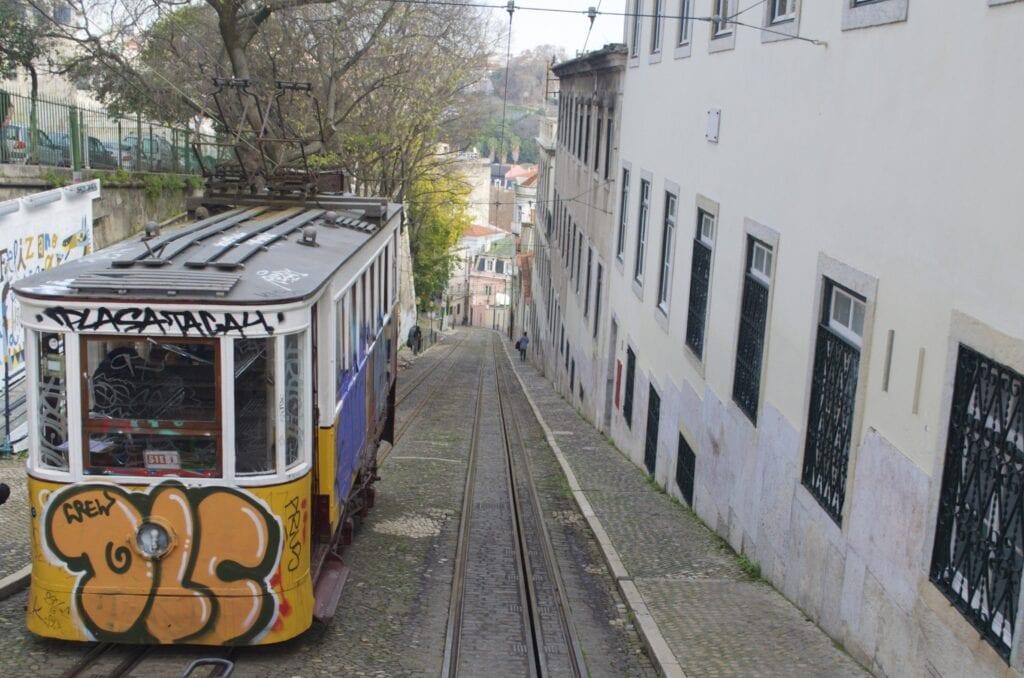 Ascensor da Glória Lissabon