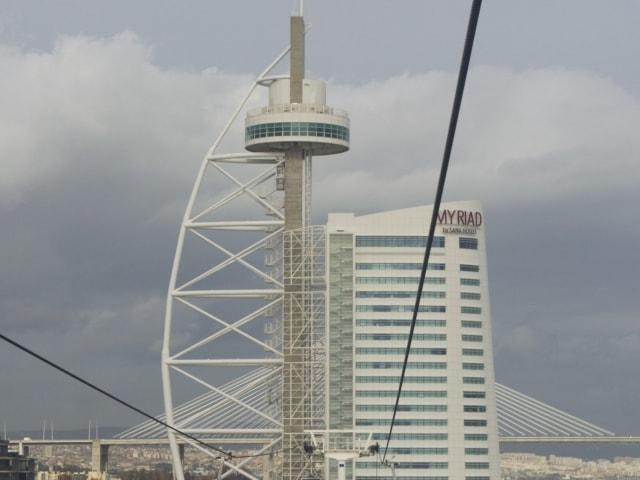 Vasco da Gama Turm Lissabon