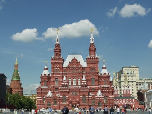 Historisches Museum am Roten Platz
