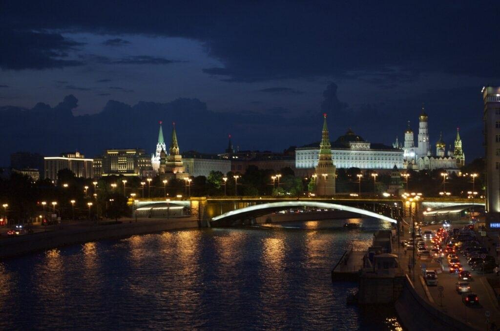 Moskau bei Nacht Moskau