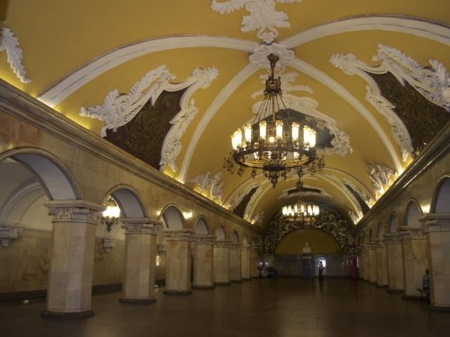 U-Bahn-Station Komsomolskaja Moskau