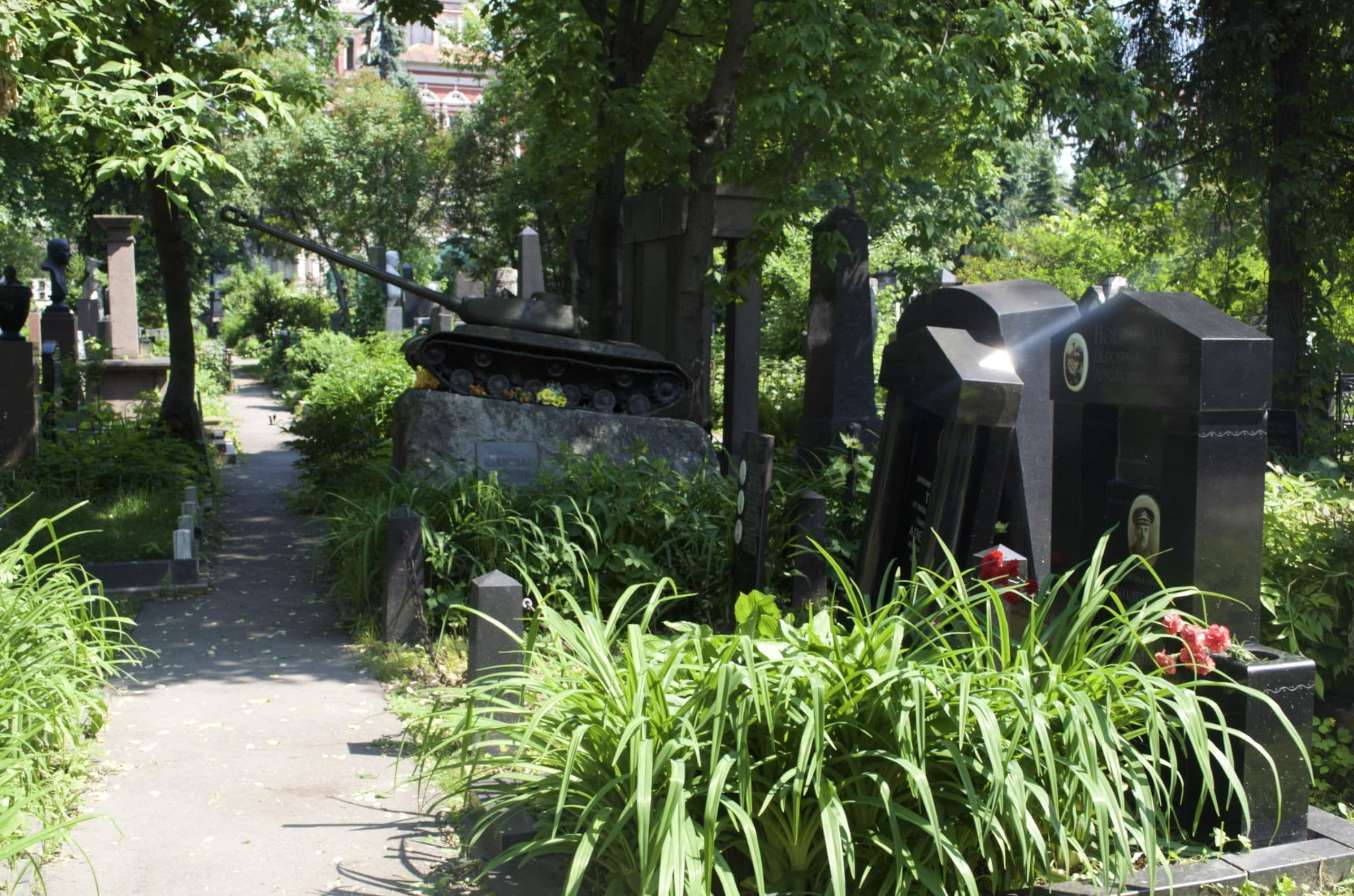 Nowodewitschi-Friedhof Moskau