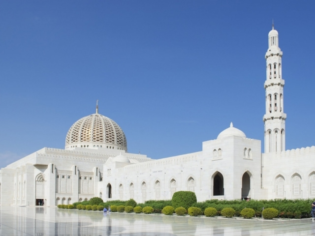 Sultan-Qabus-Moschee Muscat