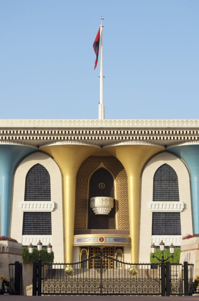 Sultanspalast Muscat