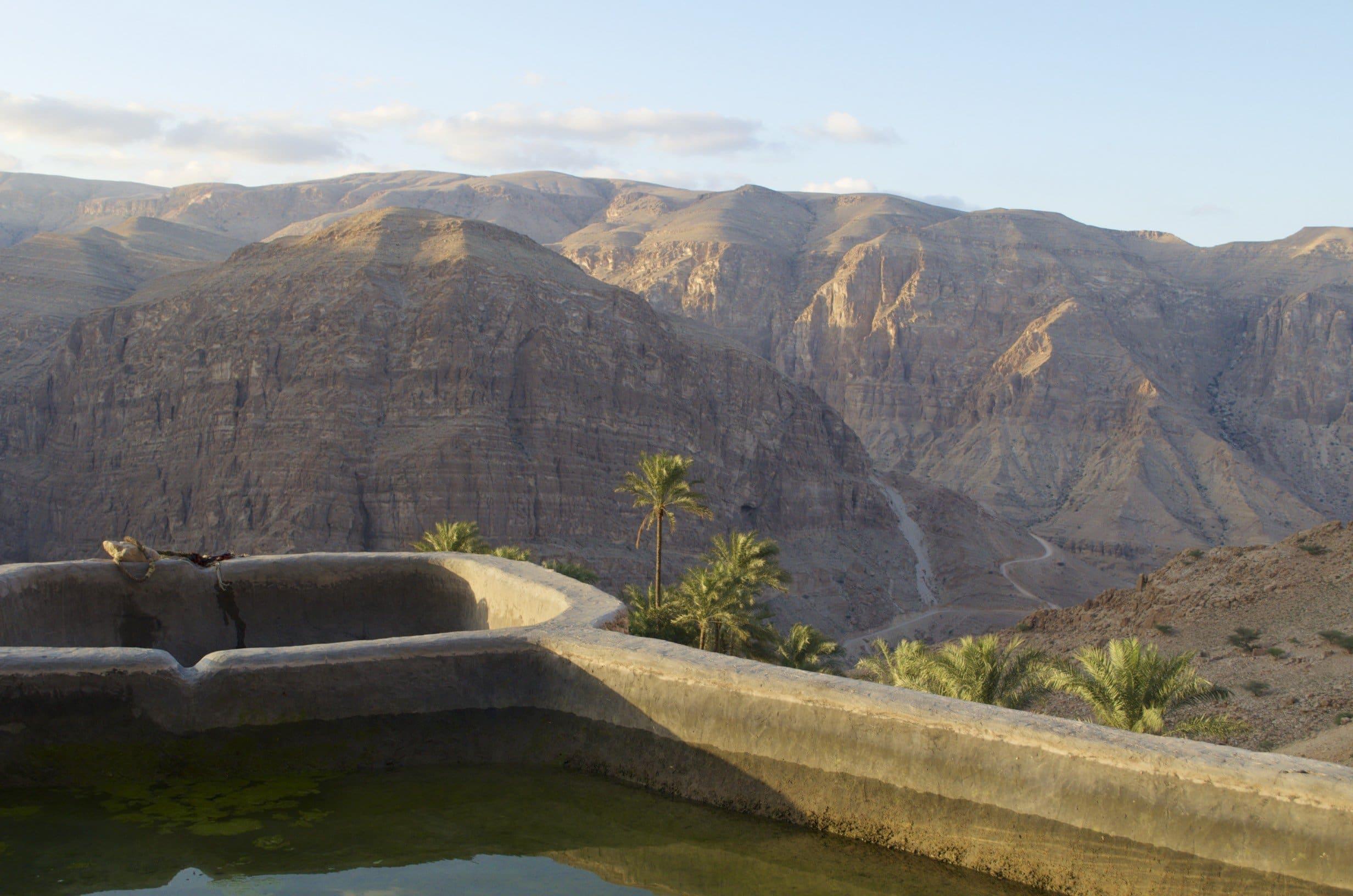 Oman Wadi Tiwi