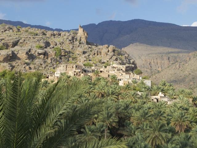 Oase Misfah im Oman