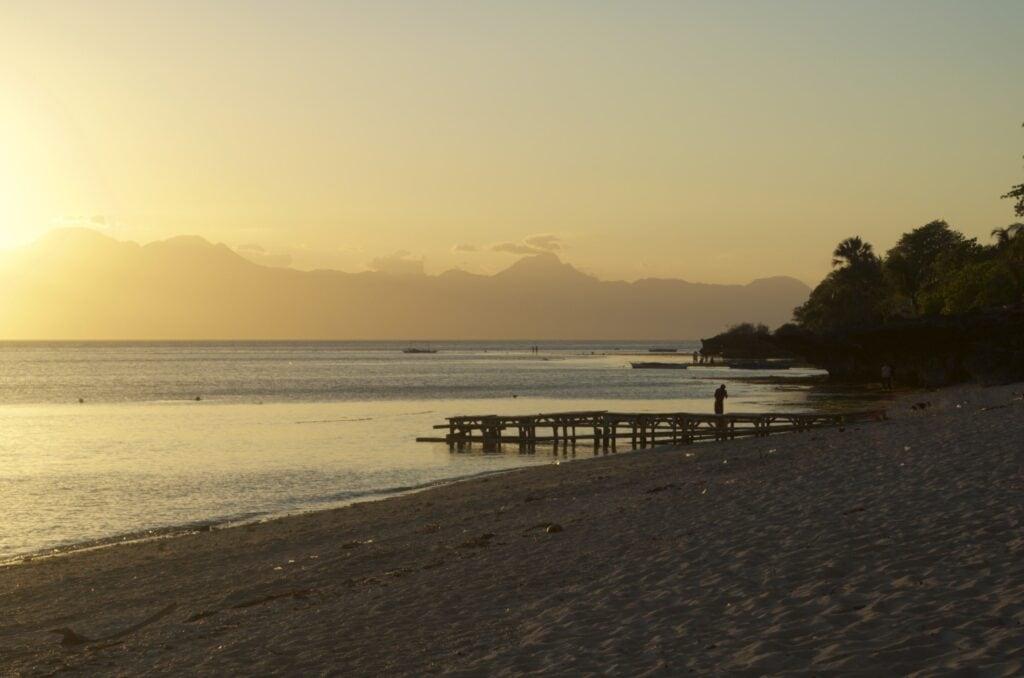 Sonnenuntergang auf Siquijor (Coco Groove Beach Resort)