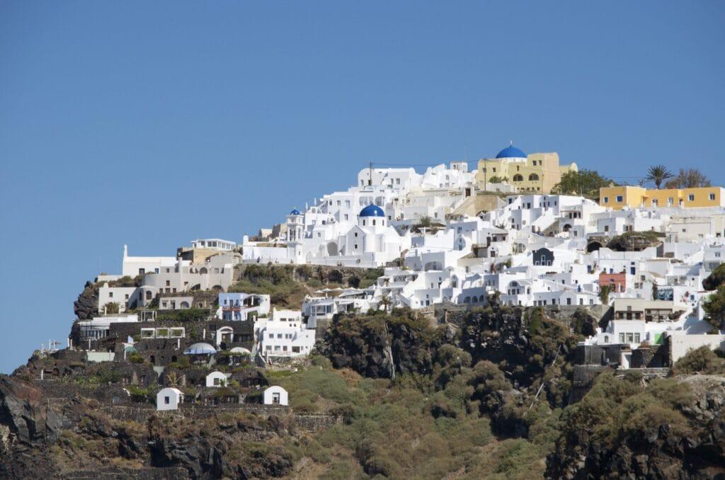 Imerovigli am höchsten Punkt von Santorin