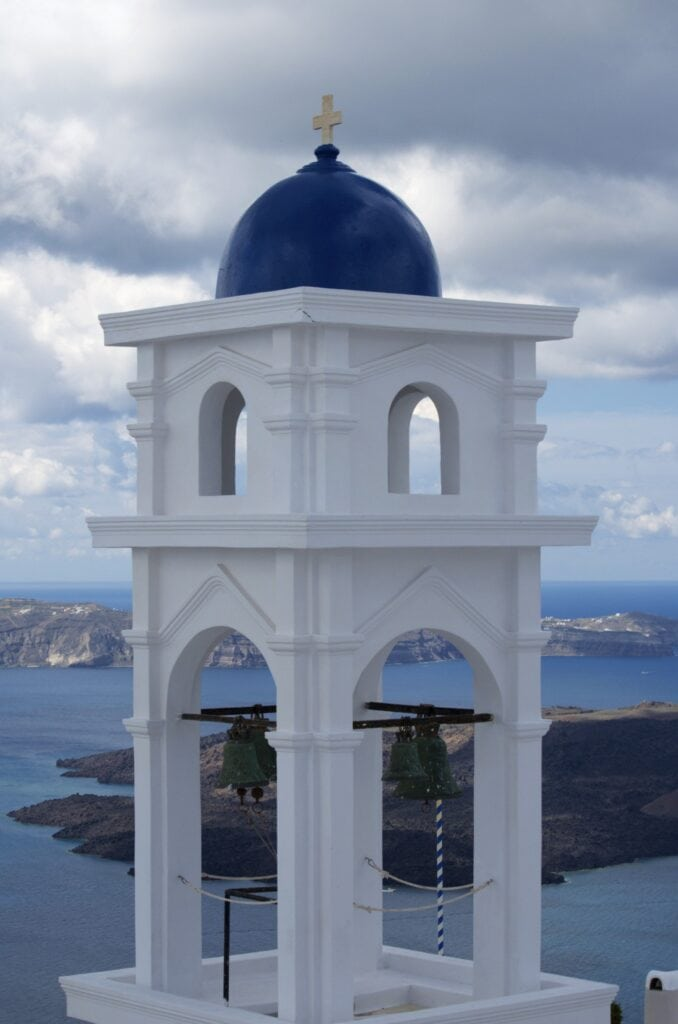 Glockenturm in Imerovigli
