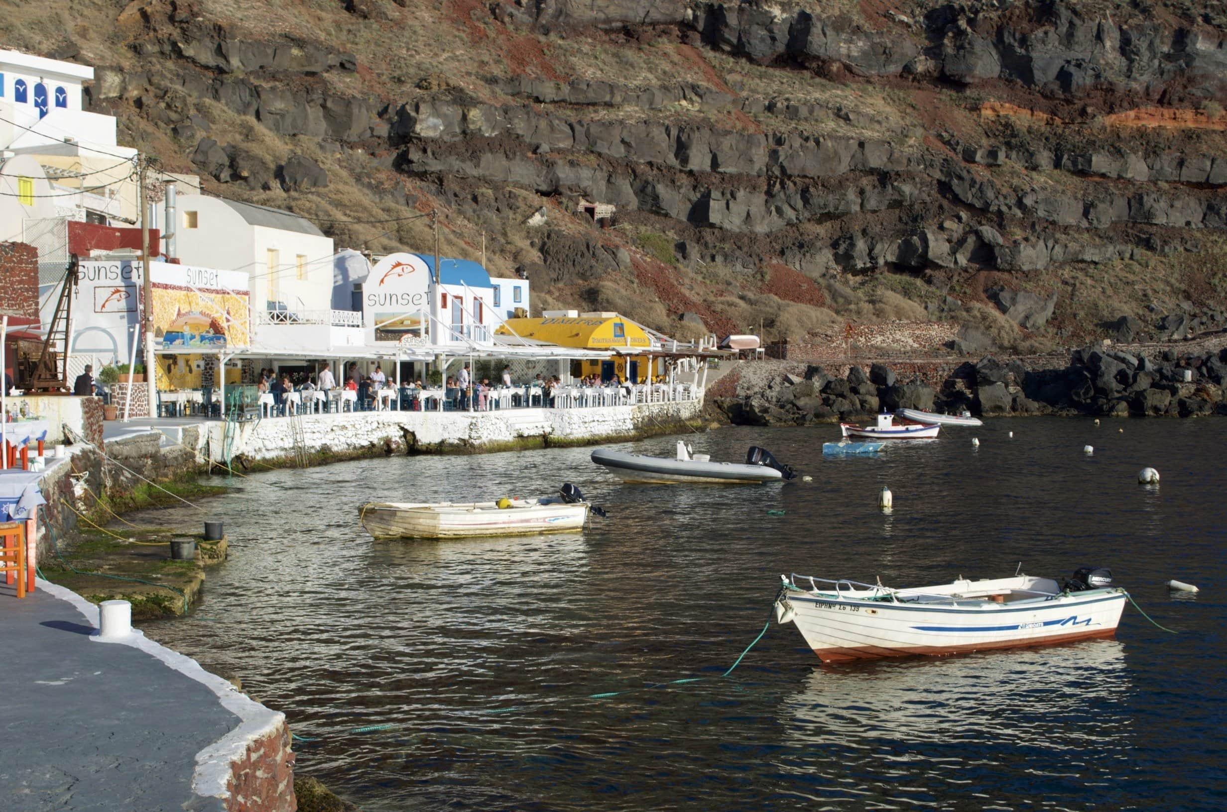 Hafen von Amoudi
