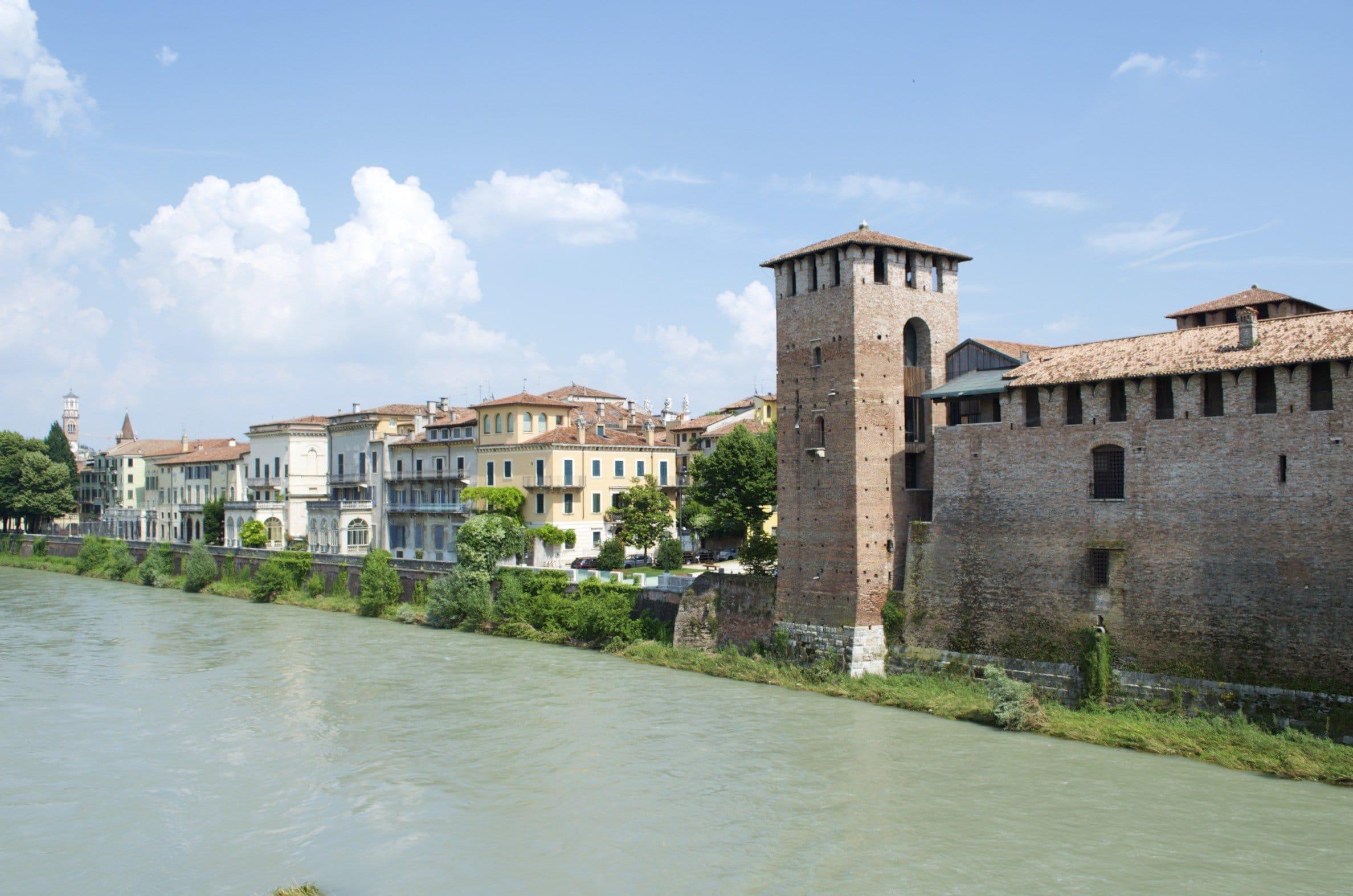Castelvecchio und Etsch