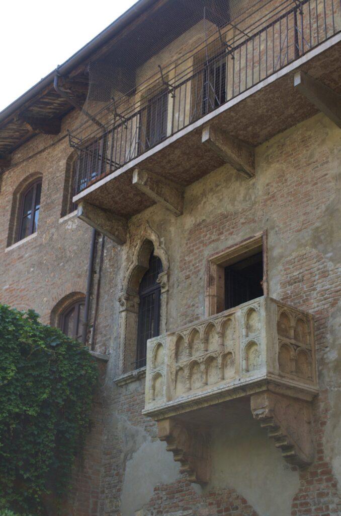 Case de Giulietta mit dem berühmten Balkon