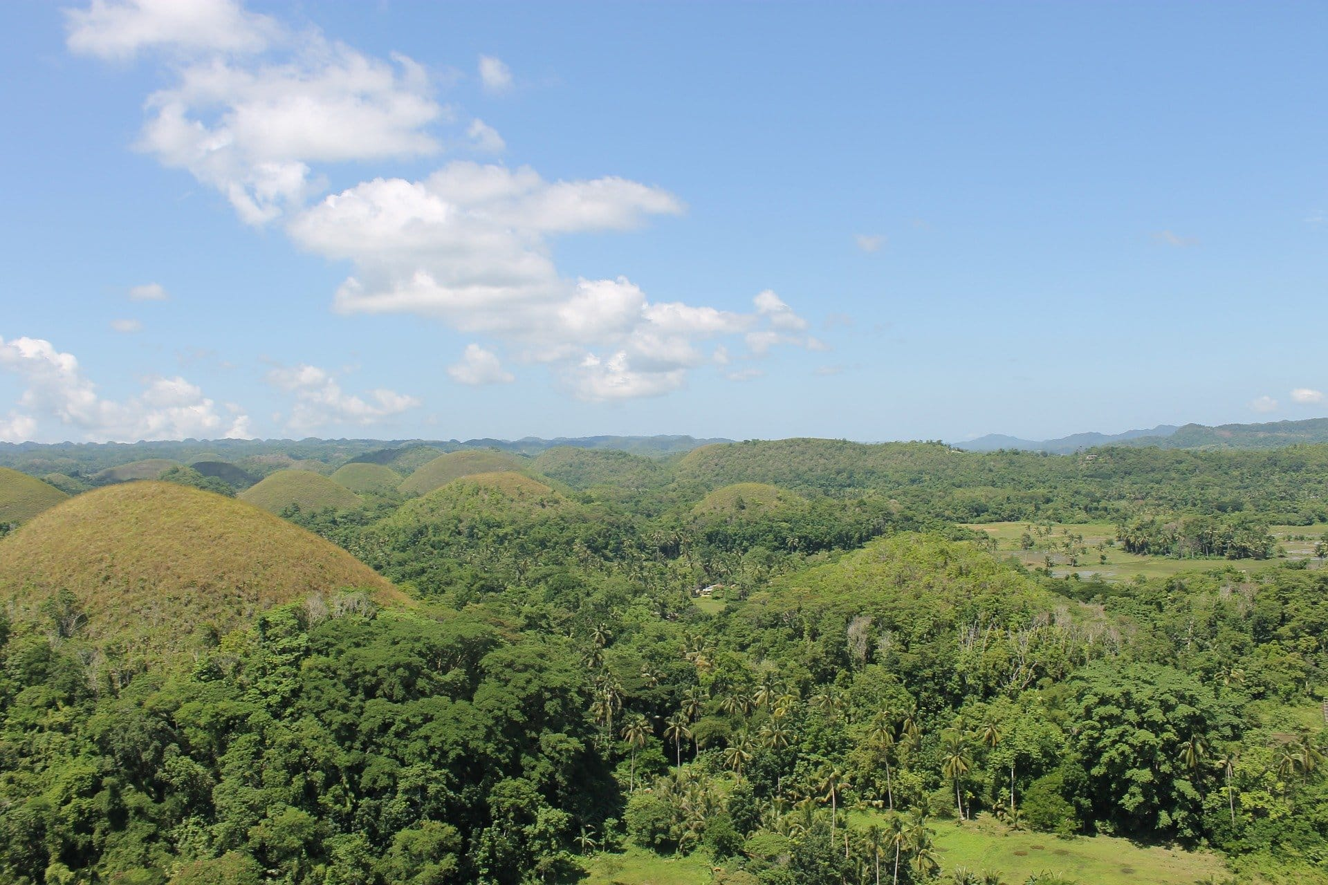 Chocolate Hills Bohol Philippinen