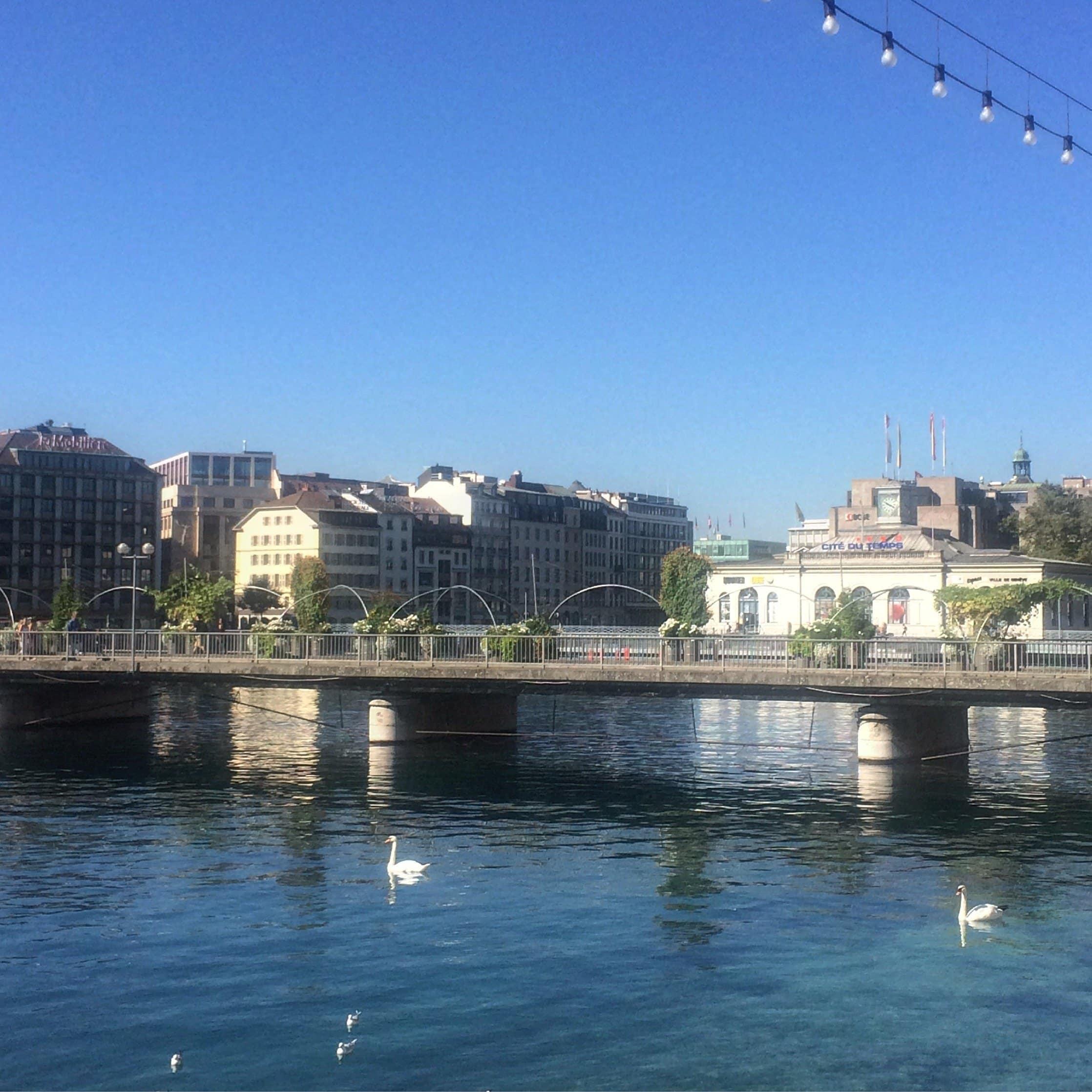 Geneva Ponte des Bergues