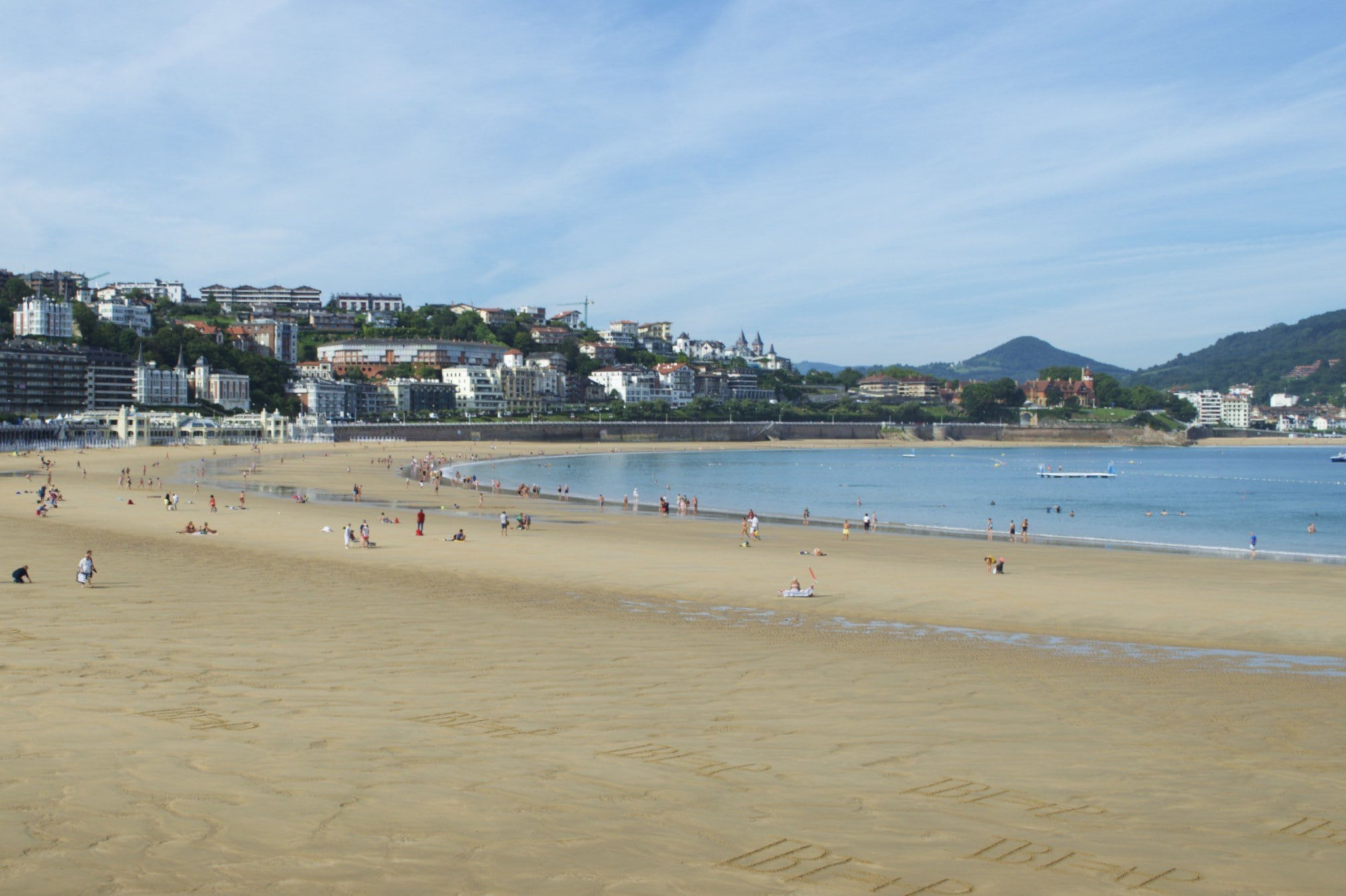 San Sebastian Playa de la Concha