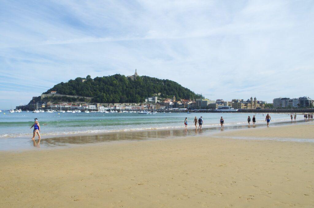 Strandspaziergänge an der Playa de la Concha