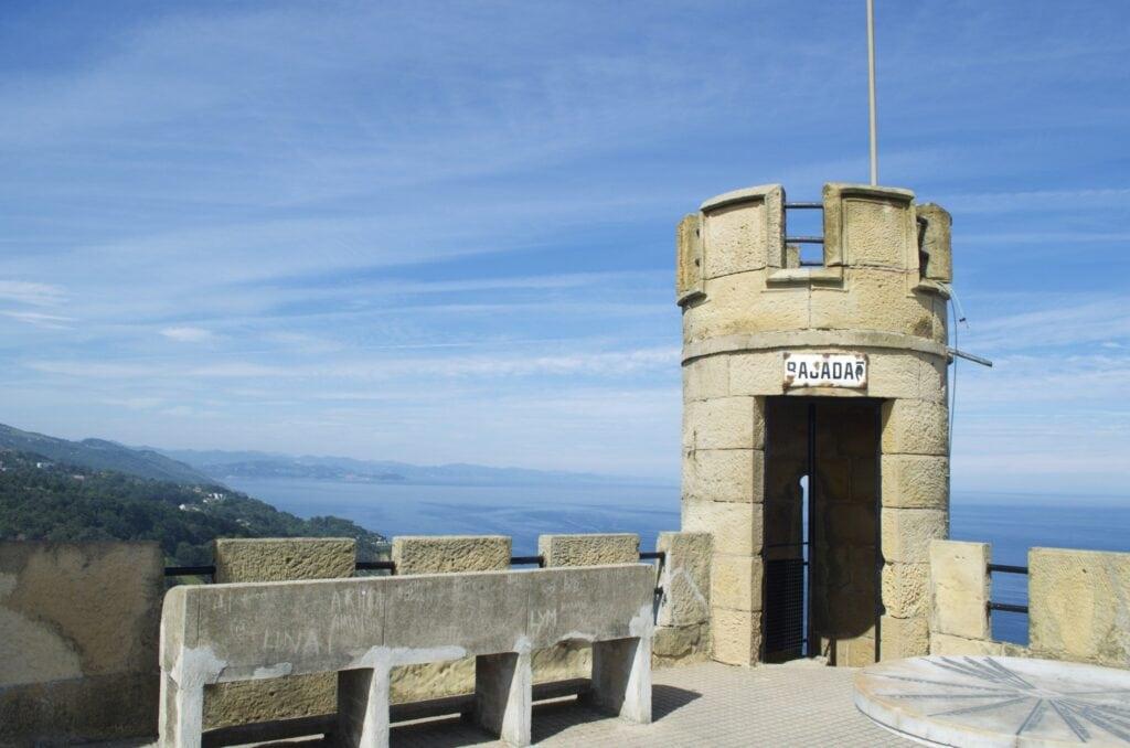Turm am Monte Igueldo