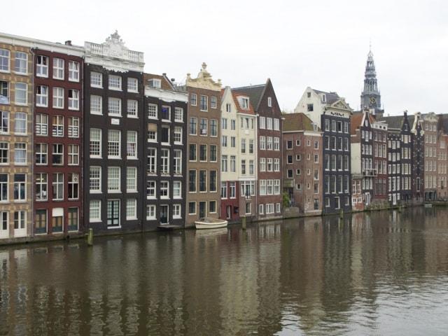 Amsterdam Waterfront Damrak