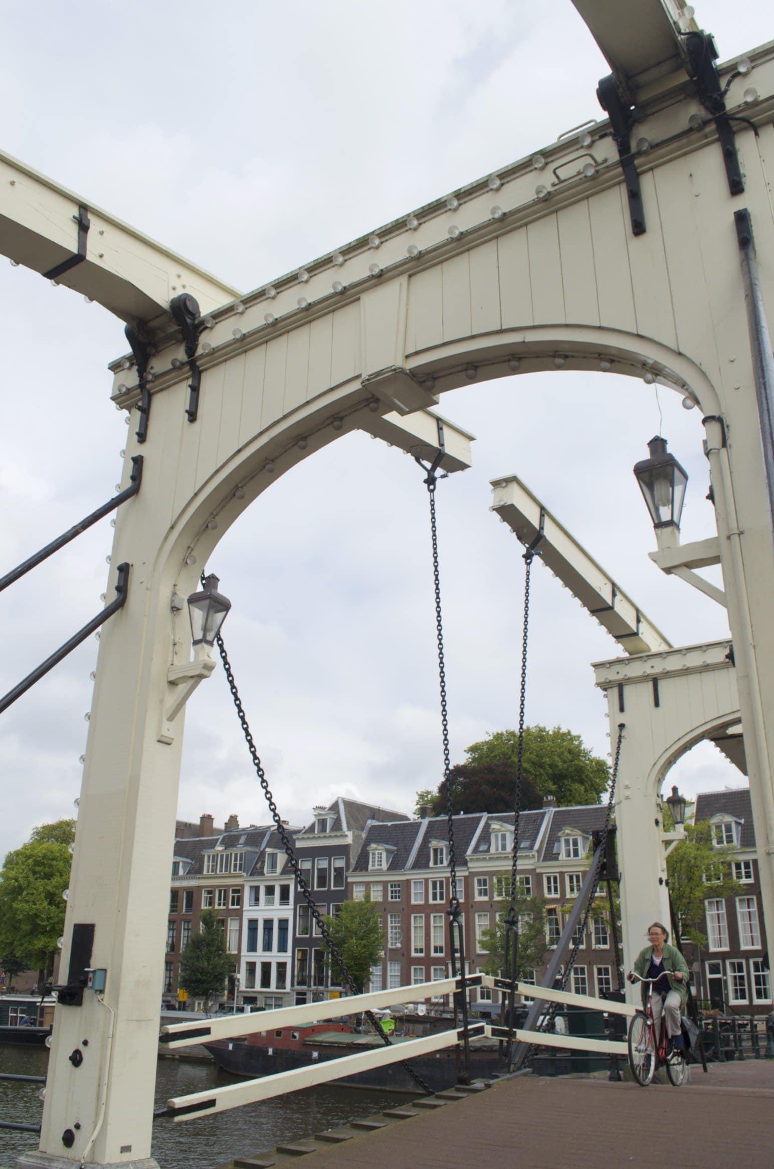 Amsterdam Magere Brug über die Amstel