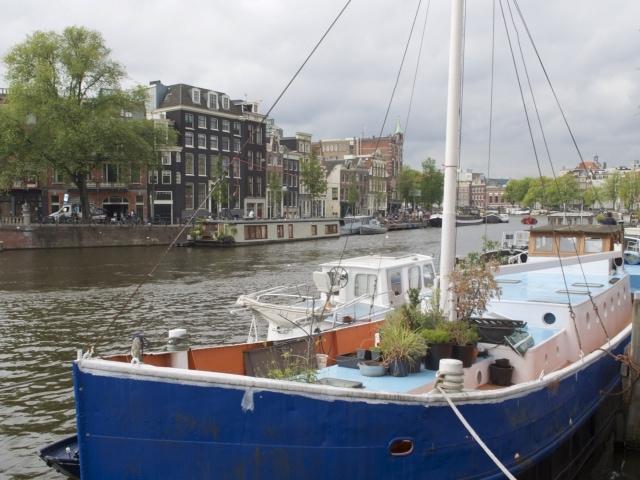 Amsterdam Hausboote an der Amstel