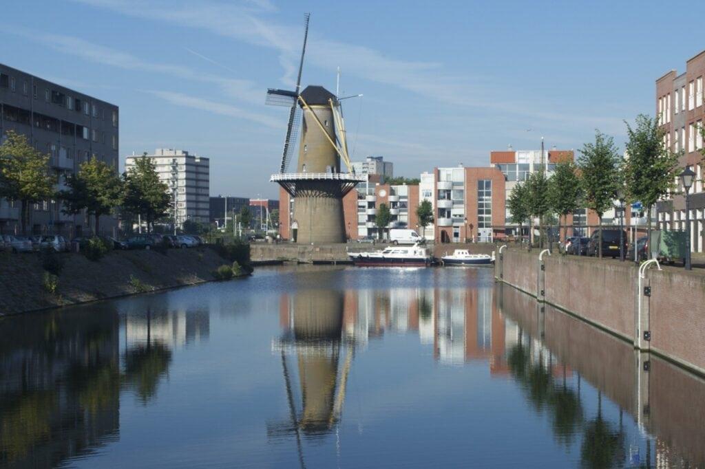 Rotterdam Windmühle in Delfshaven