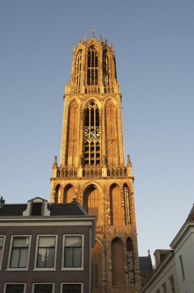 Dom Utrecht im Abendlicht