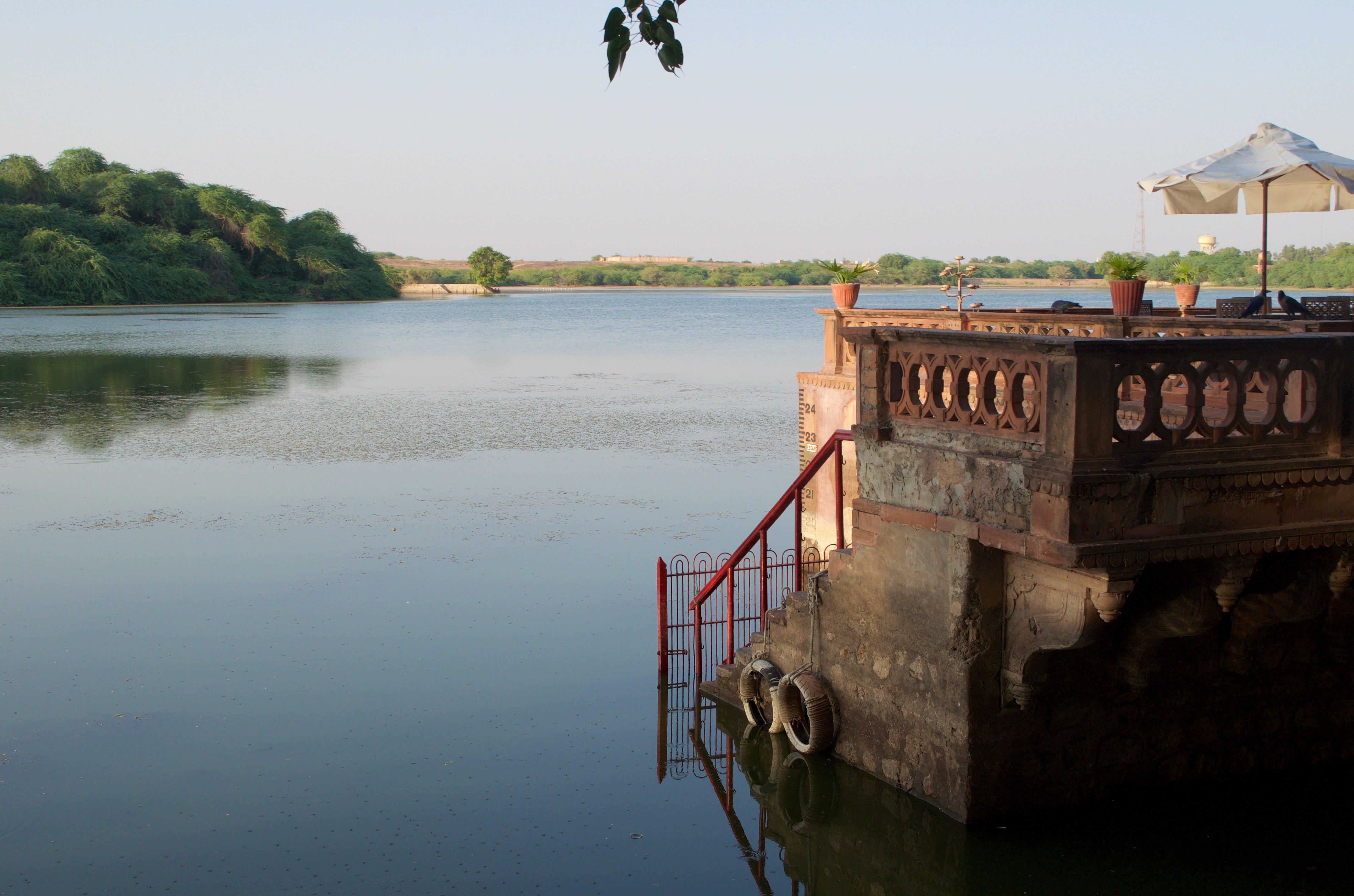 Ganjer Palace und See