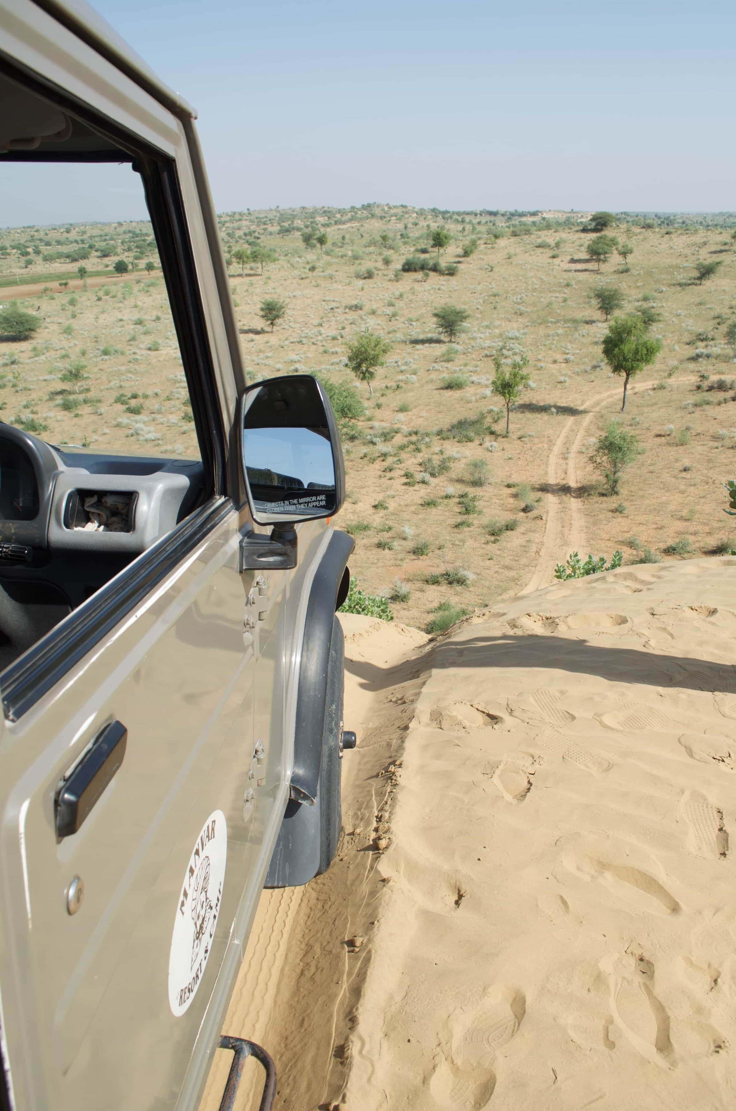 Ausflug in die Wüste Dünen