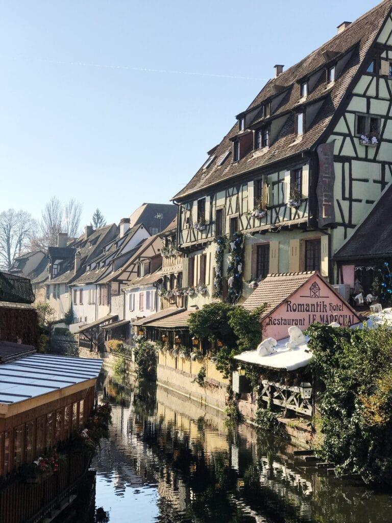 Flussromantik in Colmar