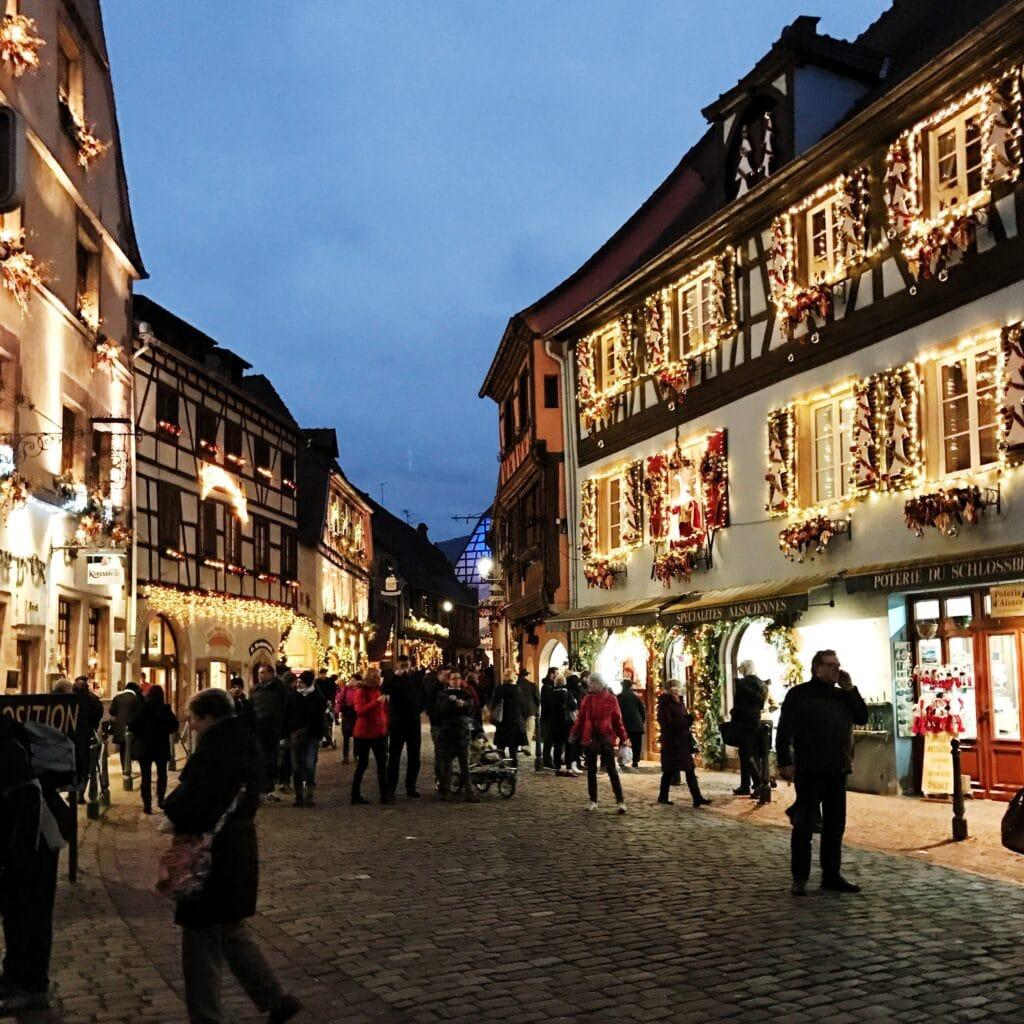 Weihnachtsmarkt Elsass Kaysersberg