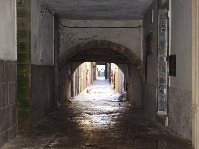 Torbogen in der Medina Essaouria