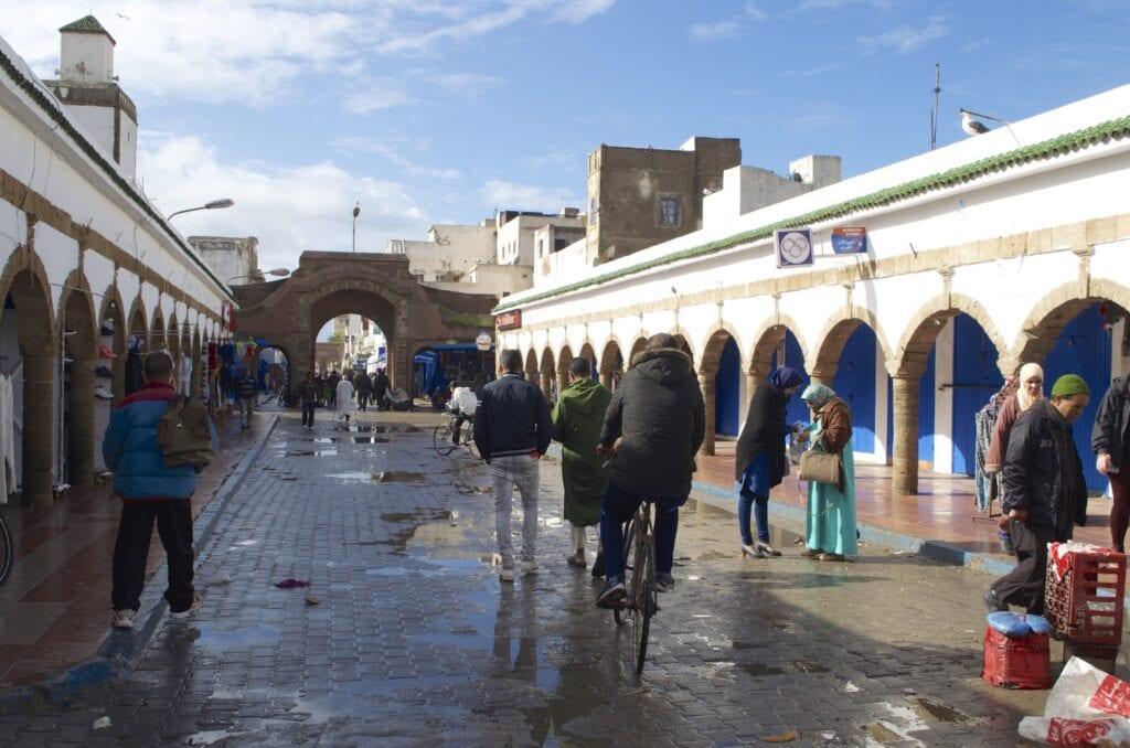 Hauptstraße des Souk in Essaouira