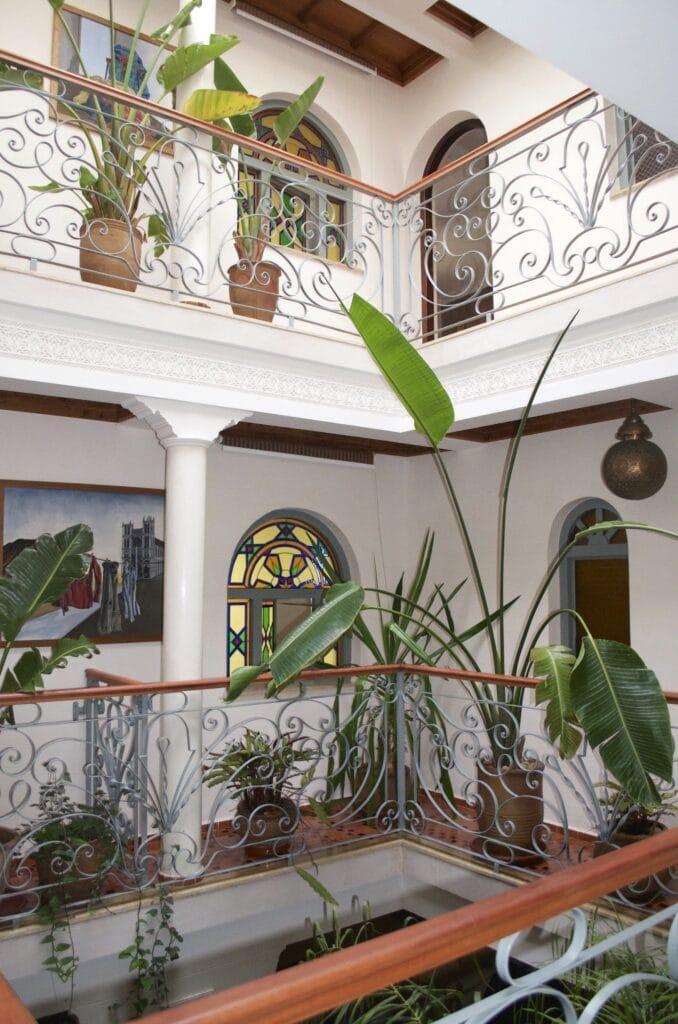 Innenhof des Riad Perle d Eau Essaouira