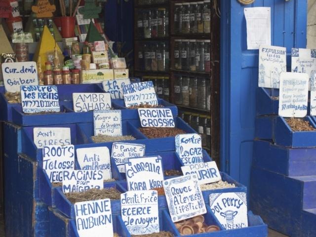 Gewürze (Geschäft im Souk) Essaouria