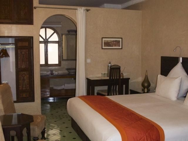 Zimmer (stadtseitig) im Riad Perle D Eau Essaouira