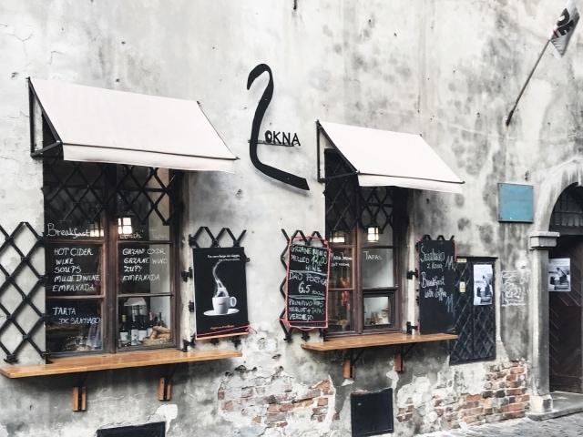 kleines Restaurand in Kazimierz
