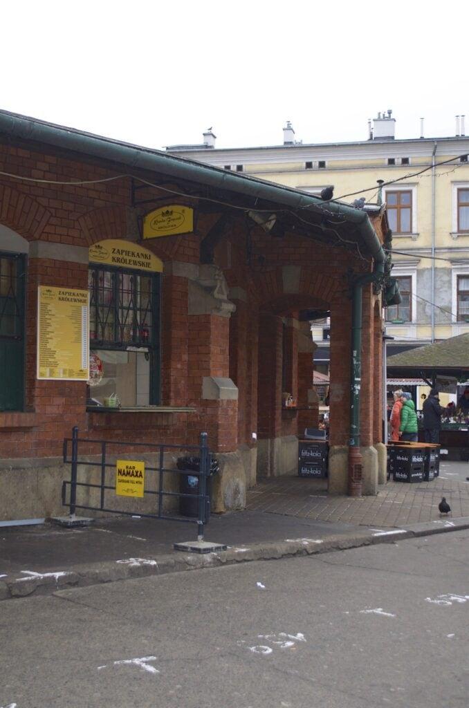 Plac Nowy in Kazimierz Krakau