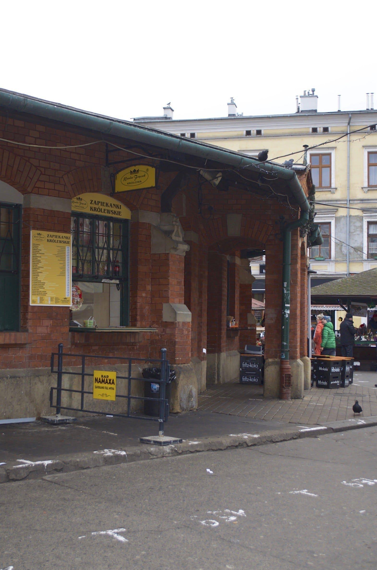 Zapiekanka auf der Eat Polska Foodtour in Krakau