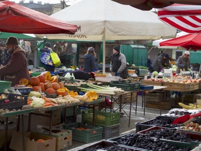 Markt in Krakau