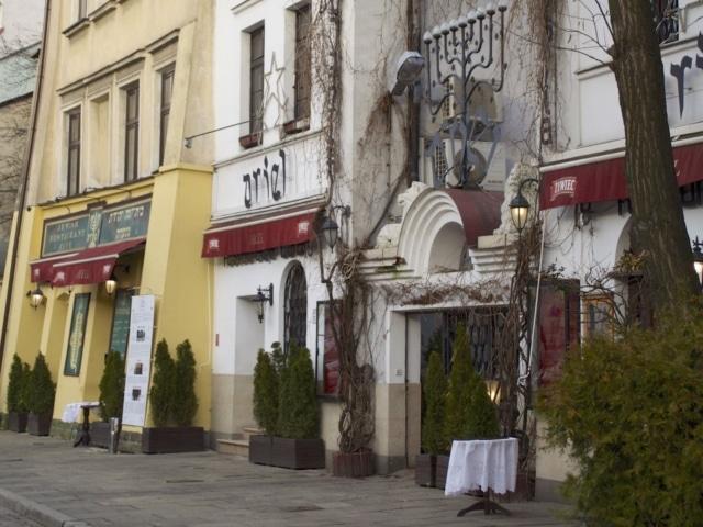jüdisches Restaurant Ariel Krakau