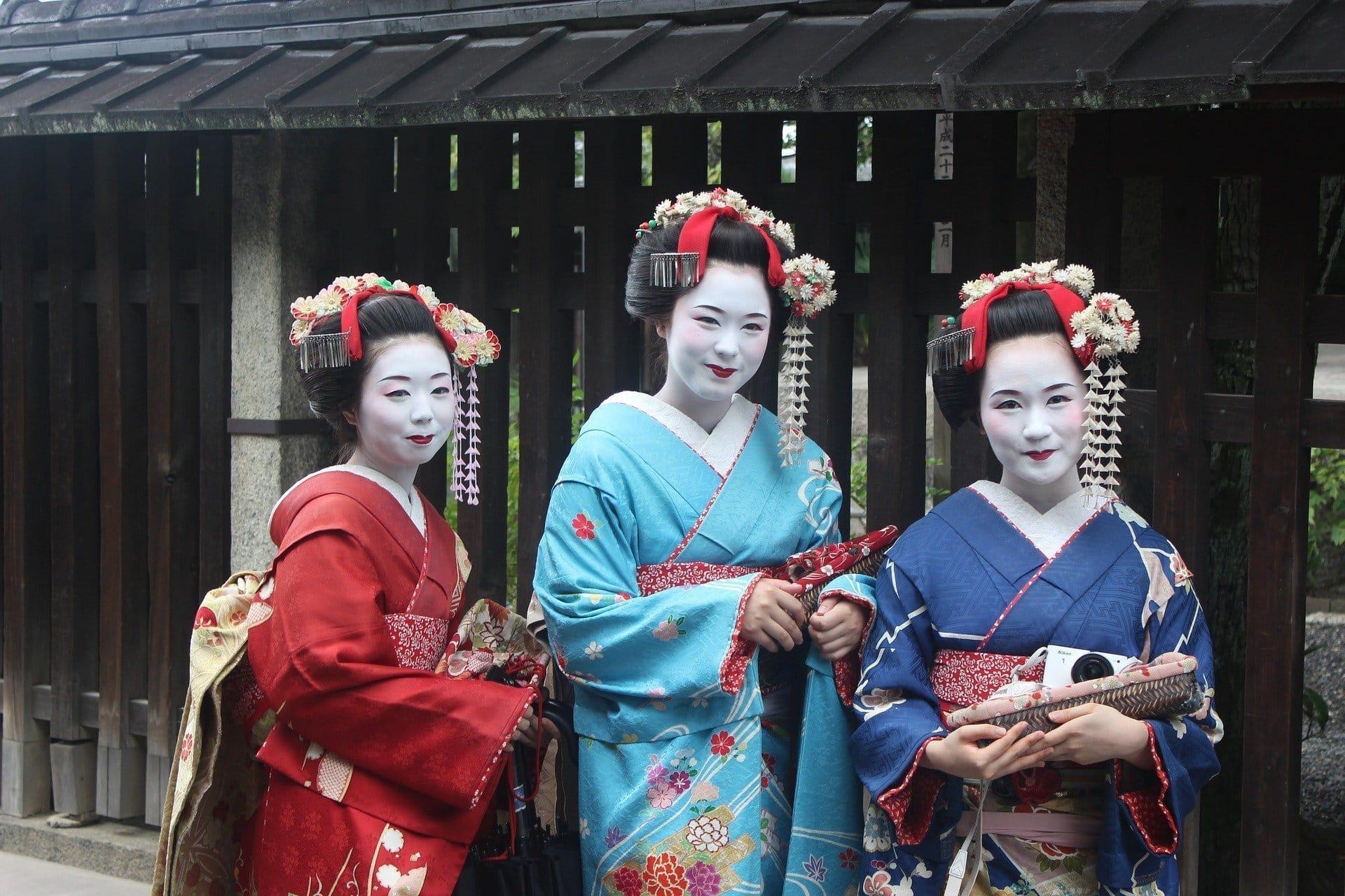 Reisepläne 2017 Japan Geisha