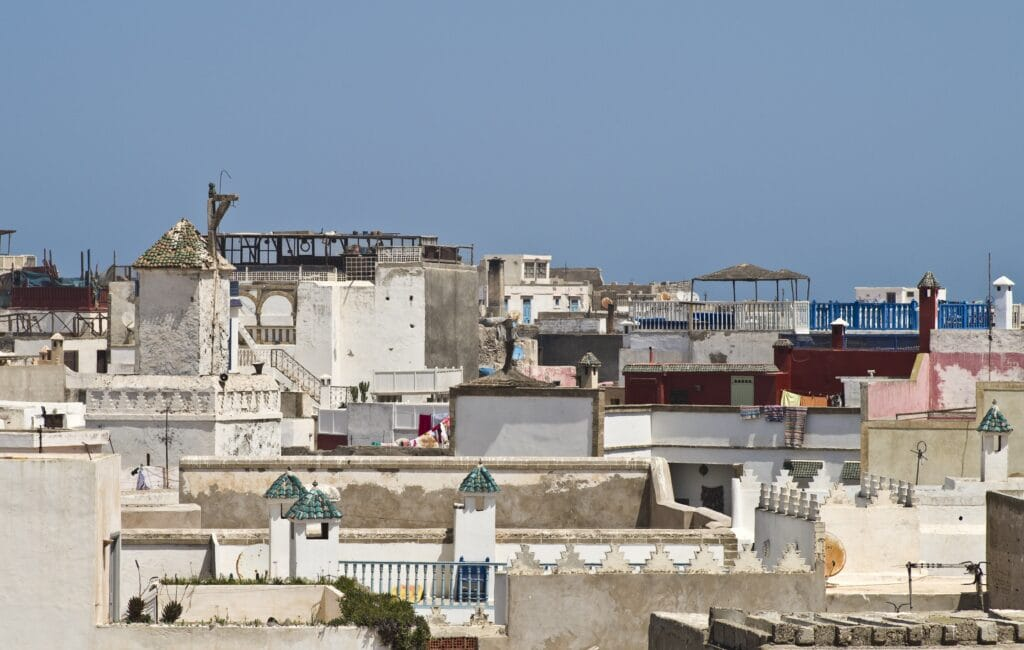 über den Dächern der Medina