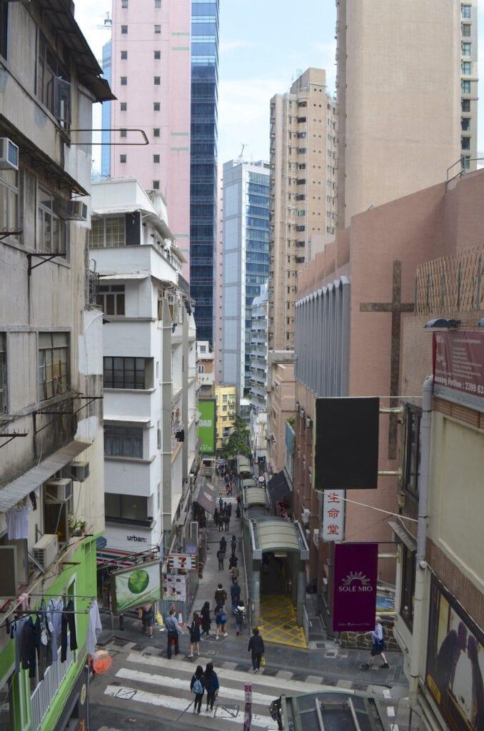 Hongkong Mid Level Escalators