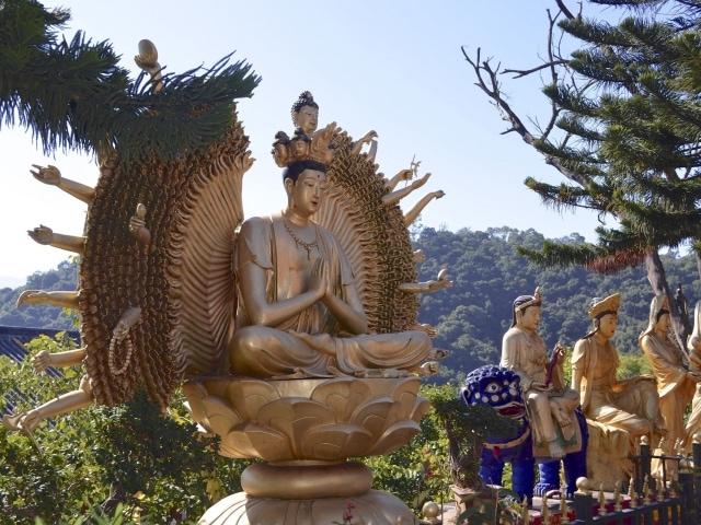 Ten Thousand Buddha Monastery Hongkong