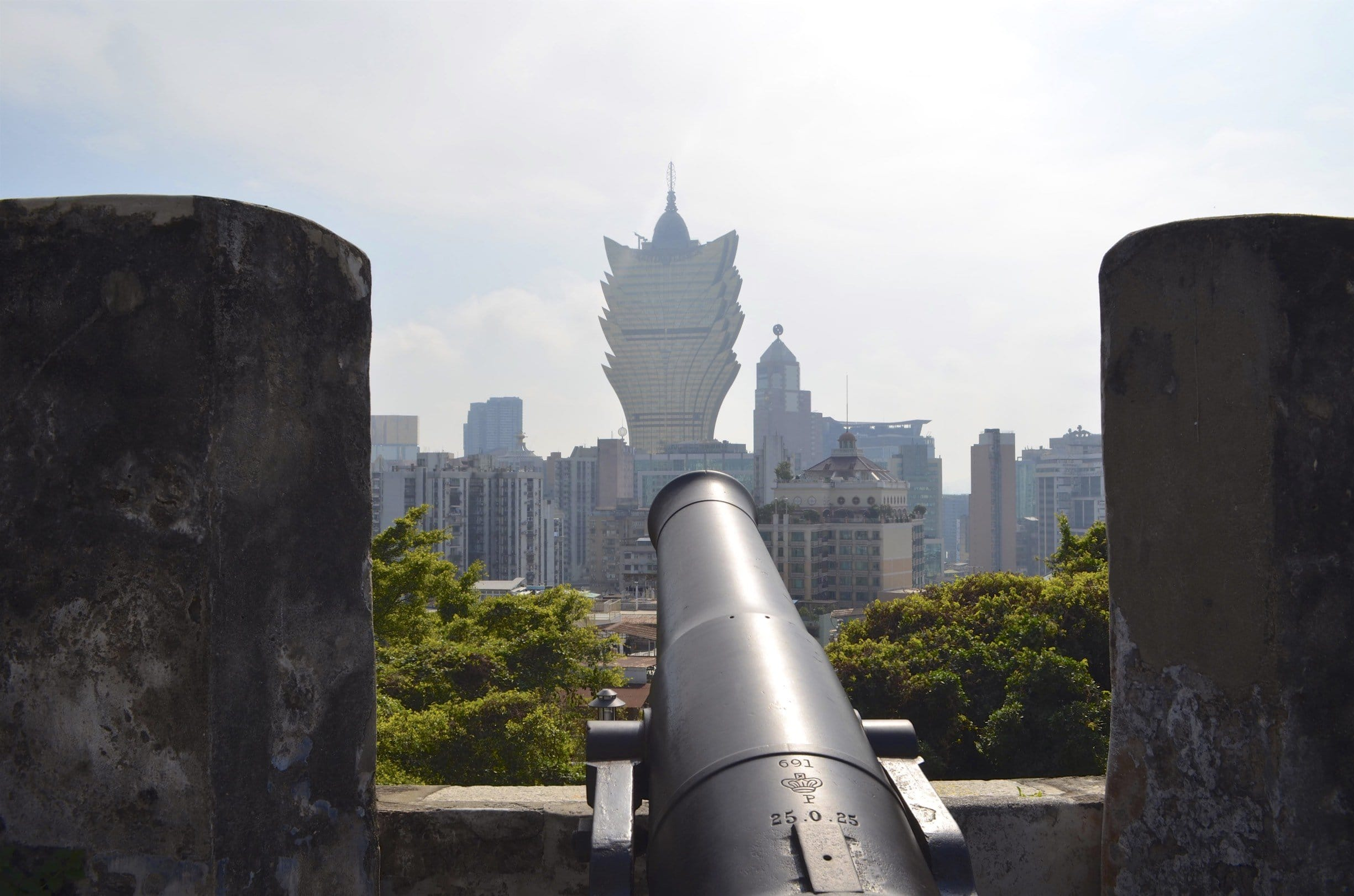 Festung Macao mit Hotel Grand Lisboa