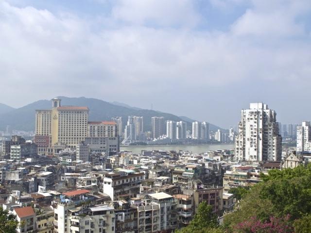 Blick über Macao